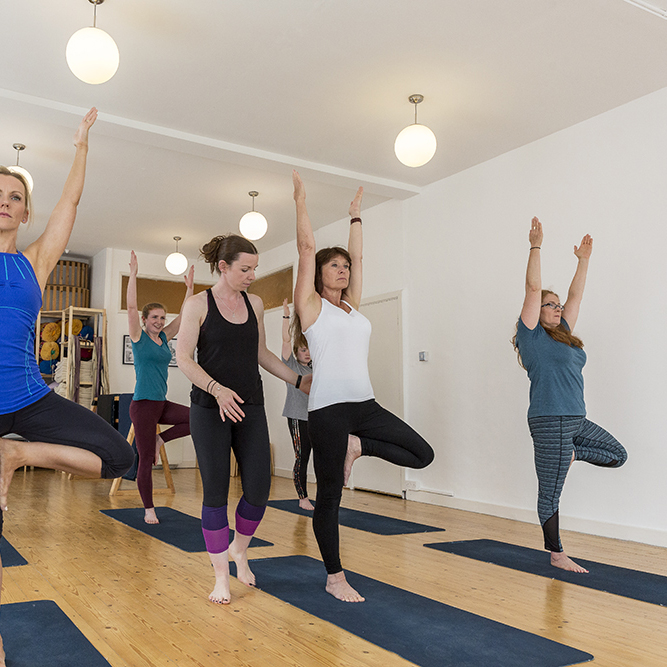 Yoga Classes For Mixed Ability